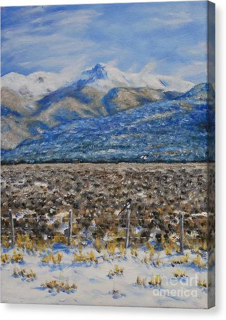 North Of Taos Canvas Print
