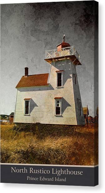 North Rustico Lighthouse Canvas Print
