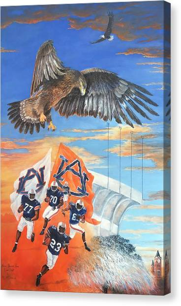 Sec Canvas Print - Nova's Final Flight by ML McCormick