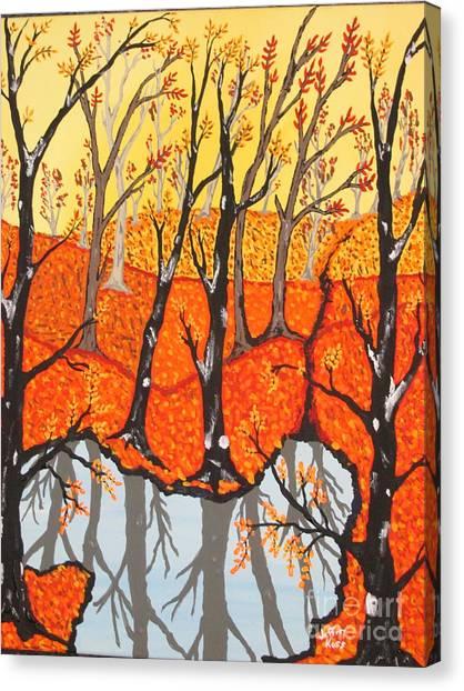 November Morning  Canvas Print