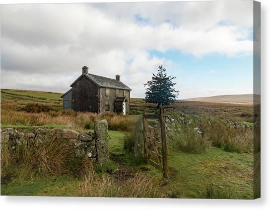 Nuns Canvas Print - Nun's Cross Farm - Dartmoor by Joana Kruse