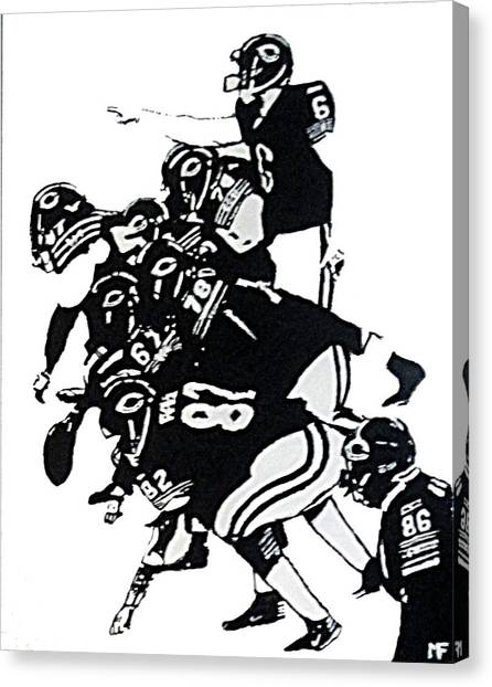 O-line Canvas Print by Matthew Formeller