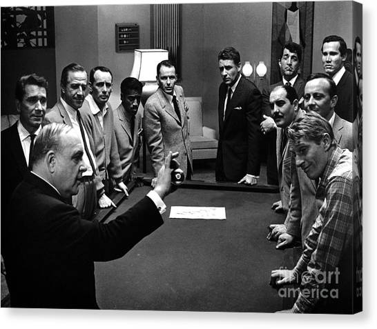 Bishops Canvas Print - Ocean's 11 Promotional Photo. by The Titanic Project