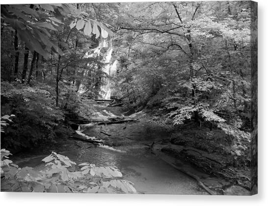 Oconee Station Waterfall  Canvas Print