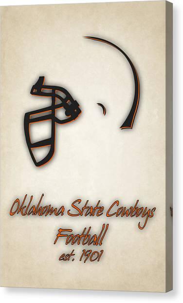 Oklahoma State University Canvas Print - Oklahoma State Cowboys by Joe Hamilton