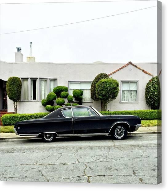 Canvas Print - Old Car by Julie Gebhardt