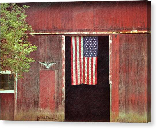 Old Glory Canvas Print by JAMART Photography