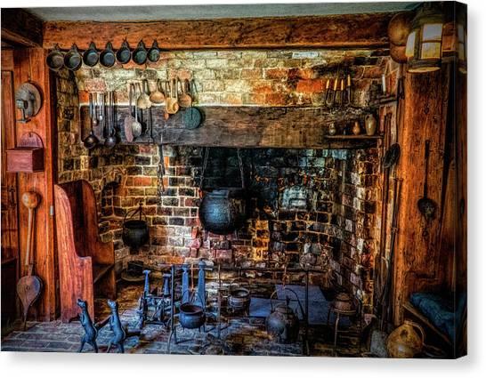 Old Kitchen Canvas Print