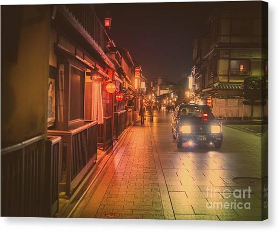 Old Kyoto, Gion Japan Canvas Print