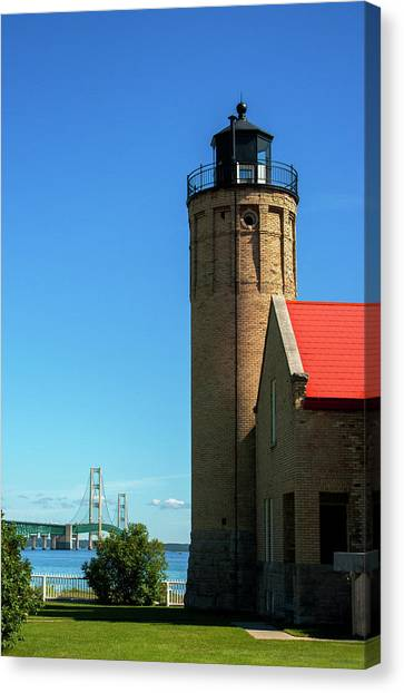 Old Mackinac Point Lighthouse Canvas Print