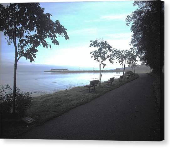 Olympic Discovery Trail Port Angeles Canvas Print