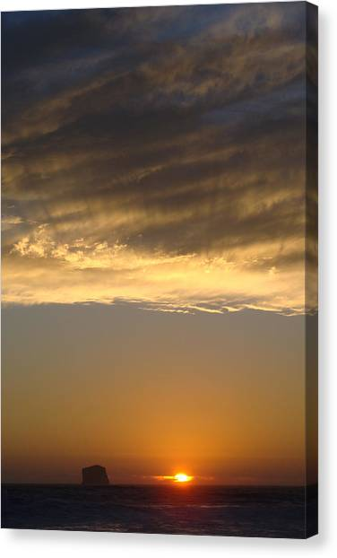 Olympic Sunset  Canvas Print by Ty Nichols