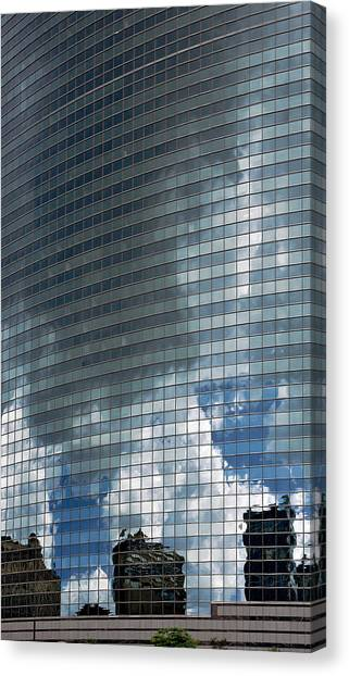 Ominous Reflection Canvas Print