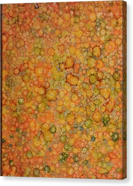 Orange Craze Canvas Print