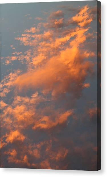 Orange Sky Canvas Print by Brande Barrett
