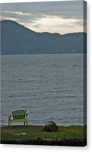 Orcas Island View Canvas Print