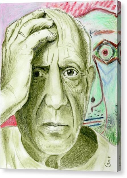 Pablo Piccaso Canvas Print