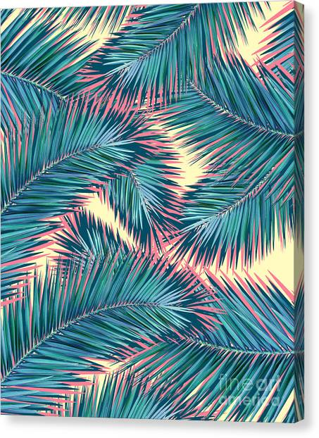Canvas Print - Palm Trees  by Mark Ashkenazi