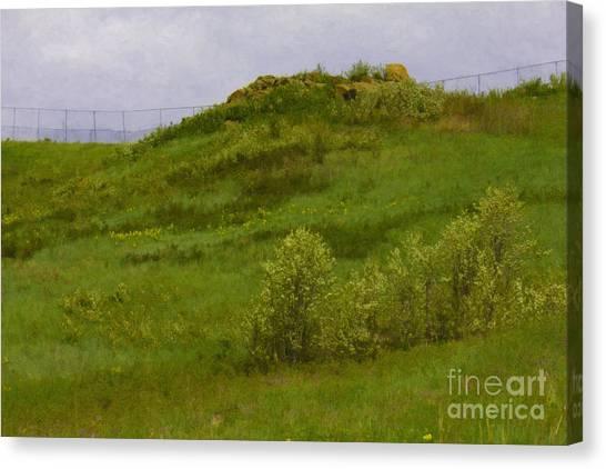 Panorama Hills Bluffs Canvas Print