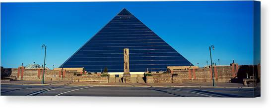 Memphis Grizzlies Canvas Print - Panoramic View Of The Pyramid Sports by Panoramic Images