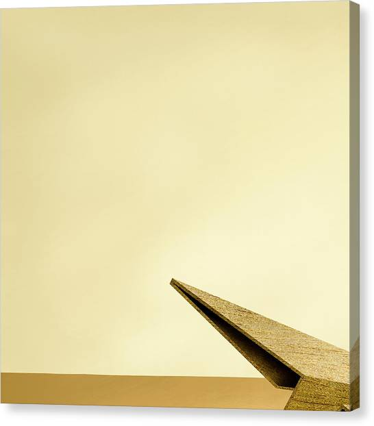 Paper Planes Canvas Print - Paper Airplanes Of Wood 7-1 by YoPedro