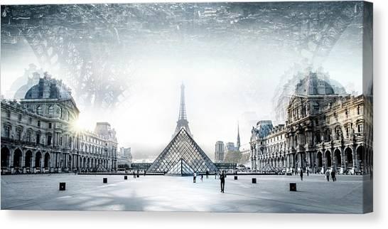 Paris Canvas Print by Ivan Vukelic