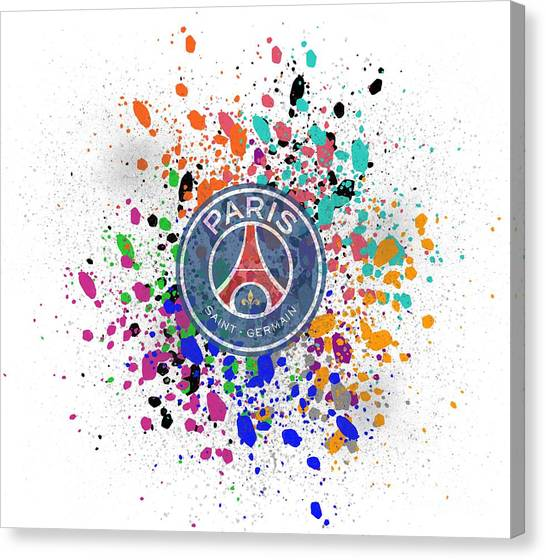 Paris Saint-germain Fc Canvas Print - Paris Saint-germain by Yanto Nuzu