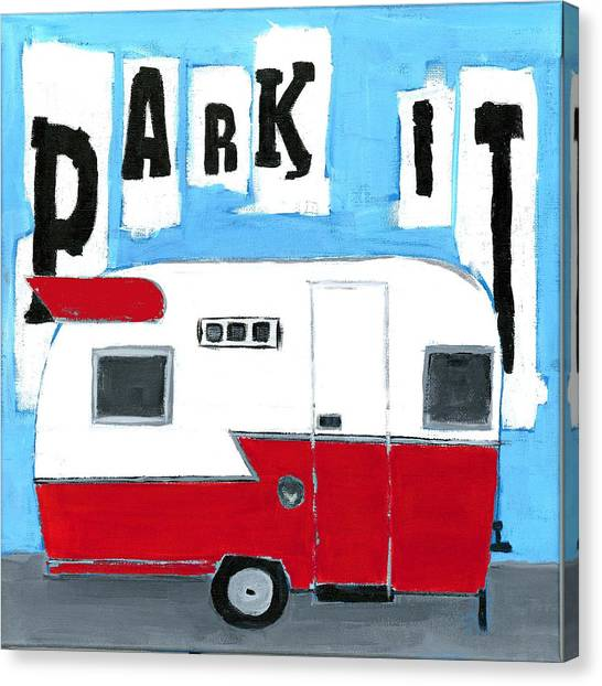 Park It Canvas Print