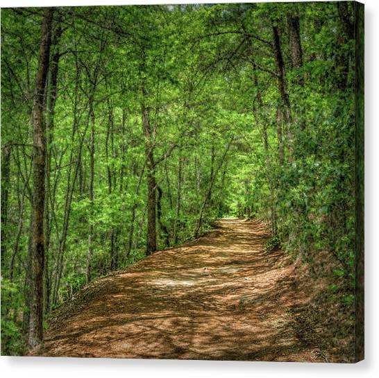 Path Less Travelled - Impressionist Canvas Print