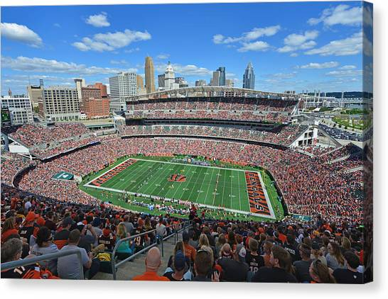 Paul Brown Stadium - Cincinnati Bengals Canvas Print