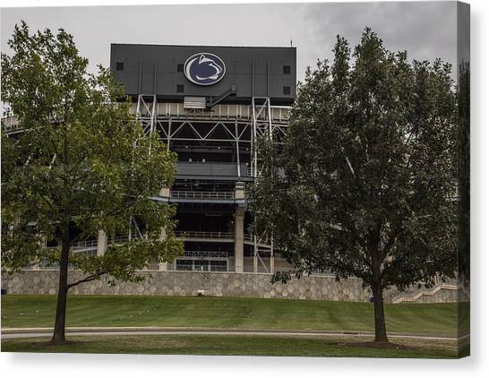 Penn State University Canvas Print - Penn State Beaver Stadium  by John McGraw