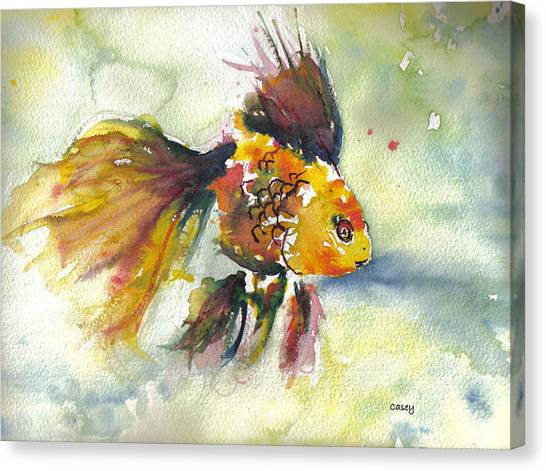 Phyco Fishy Canvas Print