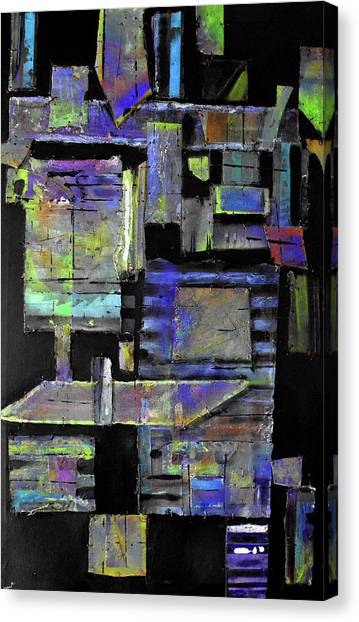 Pieces I Canvas Print by Ralph Levesque