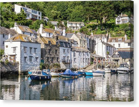 Polperro, Cornwall Canvas Print