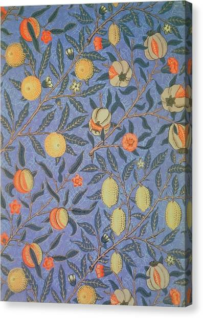 William Morris Canvas Print - Pomegranate by William Morris