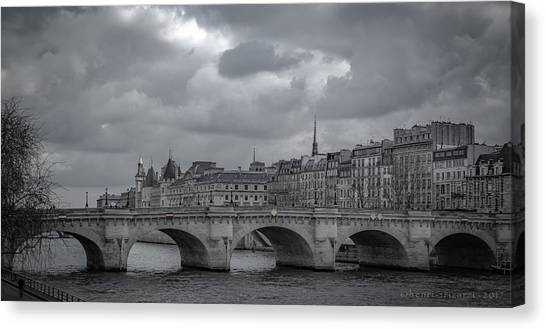 Pont Neuf Paris Canvas Print