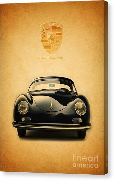 Porsche 356 Canvas Print