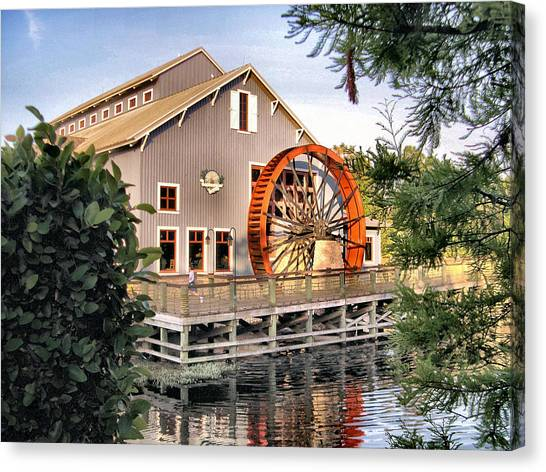 Port Orleans Riverside Iv Canvas Print