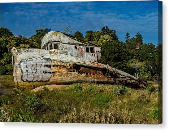Marin County Canvas Print - Port Side Of The Pt Reyes by Bill Gallagher