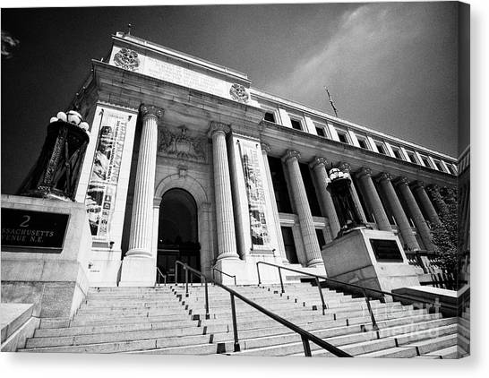 Smithsonian Museum Canvas Print - Postal Square Building Washington Dc Usa by Joe Fox