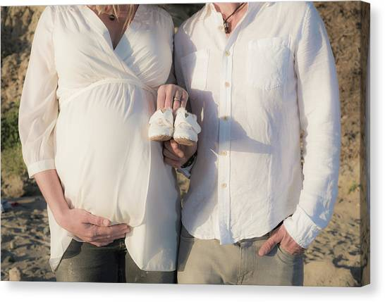 Canvas Print featuring the photograph Powell Maternity by T Brian Jones