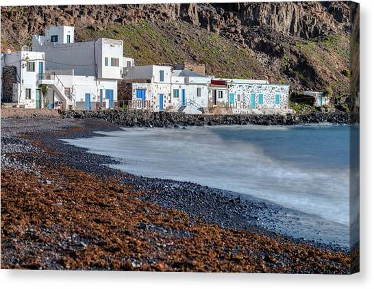 Canaries Canvas Print - Pozo Negro - Fuerteventura by Joana Kruse