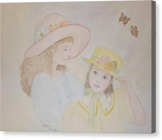 Prairie Sun Hats Canvas Print by Patti Lennox