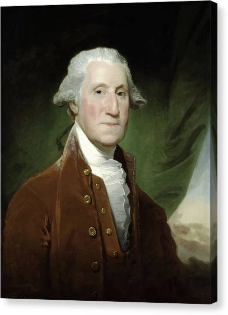 President Canvas Print - President George Washington  by War Is Hell Store