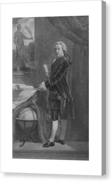Revolutionary War Canvas Print - President John Adams - Two by War Is Hell Store
