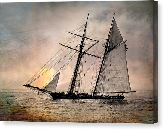 Pride Of Baltimore II Canvas Print