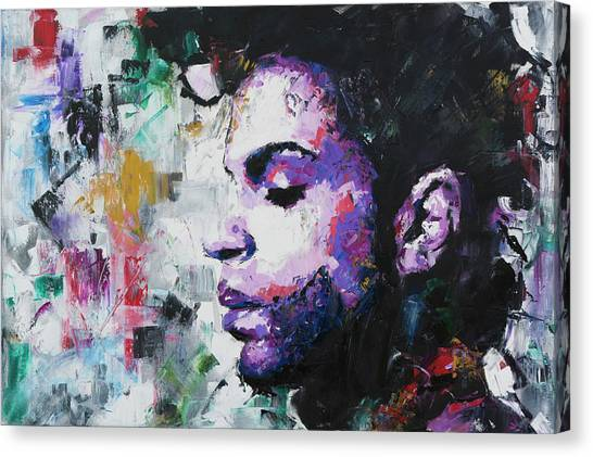 Red Eye Canvas Print - Prince by Richard Day