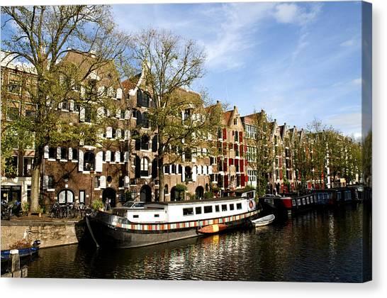 Prinsengracht Canvas Print