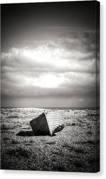 Projekt Desolate Go West Canvas Print by Stuart Ellesmere