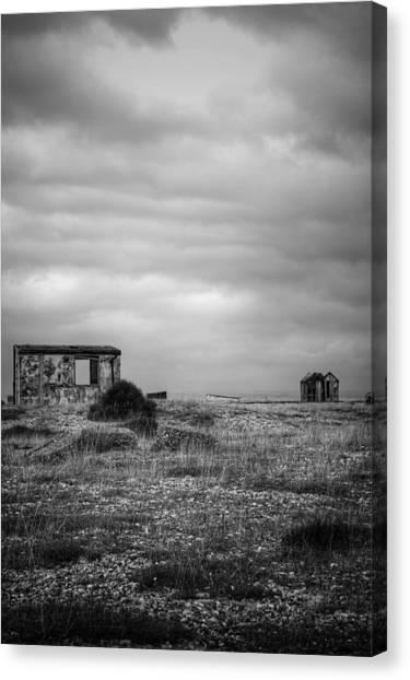 Projekt Desolate Loveshack V  Canvas Print by Stuart Ellesmere